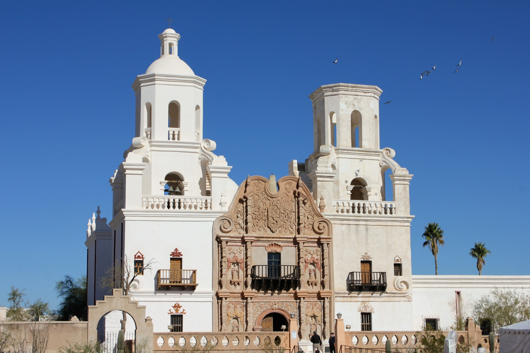 San Xavier Mission – An Infinite Number of Monkeys