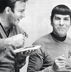 Nimoy with Shatner