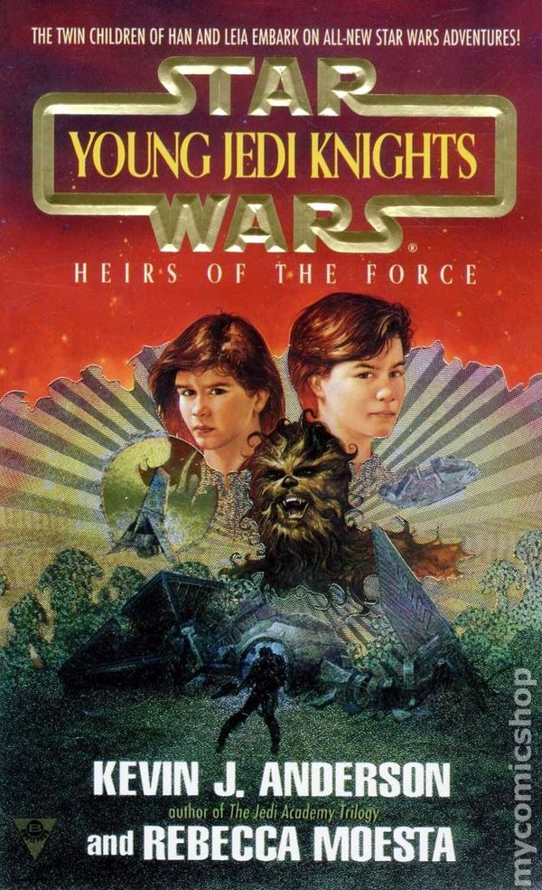 Star Wars Young Jedi Knights Heirs Of The Force By Kevin J Anderson